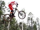 Testing the 2015 Specialized S-Works Demo Carbon with Aaron Gwin, Mitch Ropelato and Brad Benedict