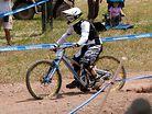Emmeline Ragot's Finish Line Crash at Windham World Cup
