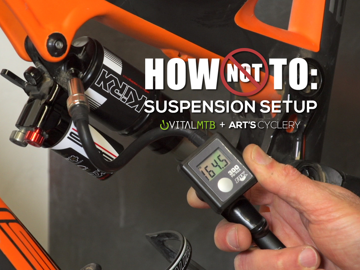 How-To: Mountain Bike Suspension Set Up with Art's Cyclery