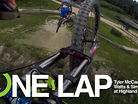 ONE LAP: Tyler McCaul, Greg Watts and Simon Silver at Highland