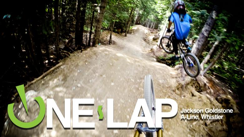 ONE LAP: Jackson Goldstone, A-Line, Whistler