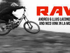 Vital RAW - Andreu & Lluis Lacondeguy and Nico Vink in La Molina