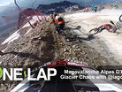 Bikes and Bodies on the Glacier at Megavalanche with Iago Garay - ONE LAP