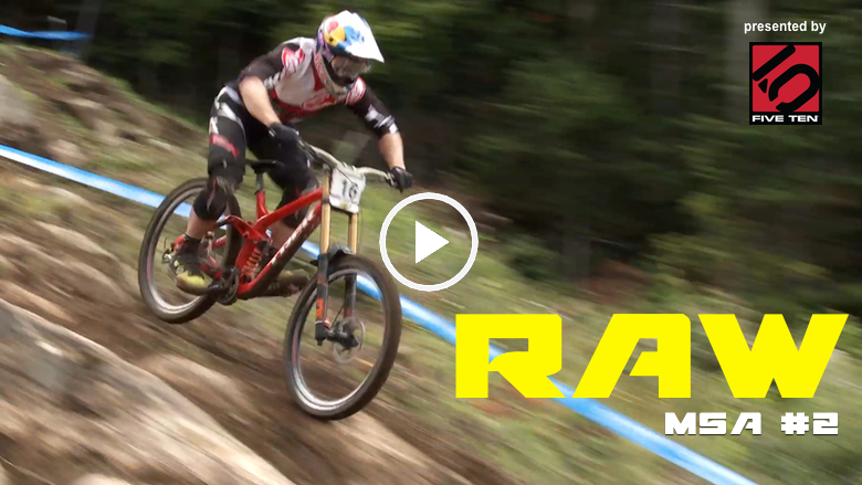 Vital RAW - Mont Sainte Anne World Cup High-Speed DH