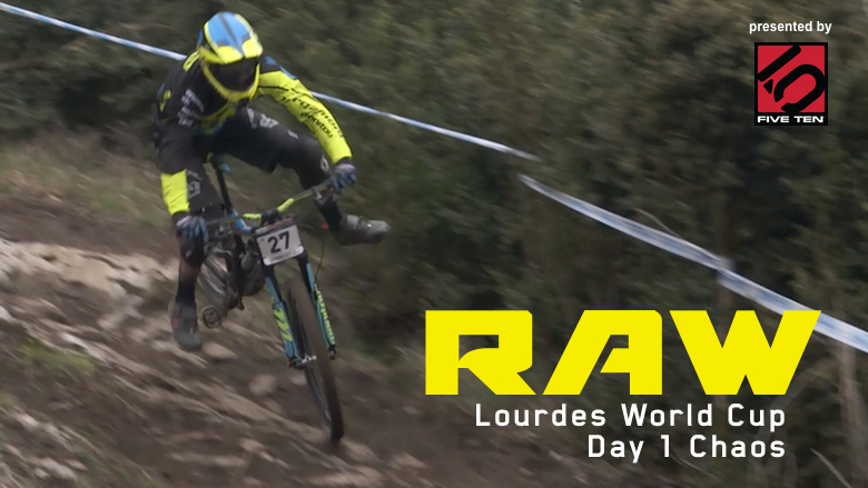 Vital RAW - Lourdes World Cup DH Chaos from Day 1