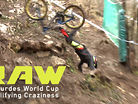 Vital RAW - Qualifying Craziness from Lourdes World Cup DH