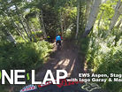 ONE LAP - Enduro World Series Aspen, Stage 1 with Iago Garay and Mark Scott