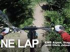 ONE LAP - Enduro World Series Aspen, Stage 6 with Chris Johnston