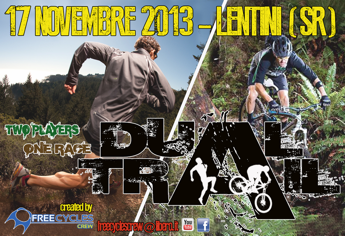 "Promo ""Dual Trail"" - MountainRunning and Biking"